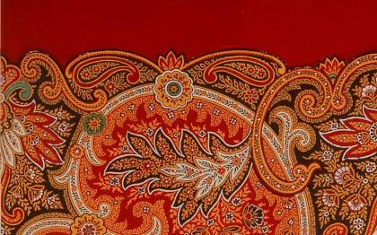 Preparatory drawings for printed fabrics